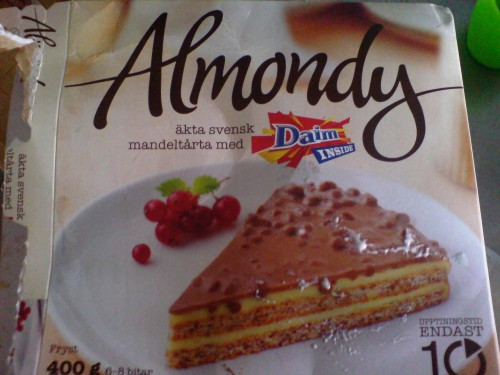 Almondy Daimtårta… | Daniella Ibis AB Almondy Ab