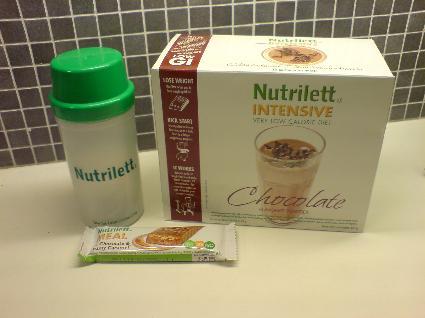 gå ner i vikt nutrilett